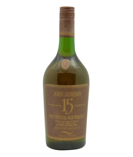 Jameson 15 Year Old Very Special Old Whiskey
