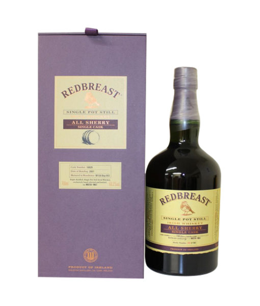 Redbreast Single Cask All Sherry Irish Whiskey