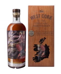 West Cork Cask Strength Single Malt Bottle 1 Bravery without Fear