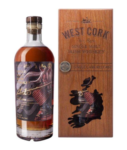 West Cork Cask Strength Single Malt Bottle 1 Bravery without Fear