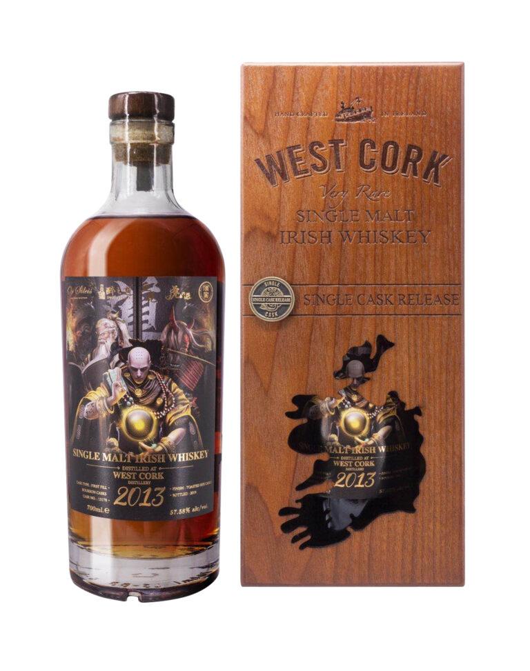 West Cork Cask Strength Single Malt Bottle 4 Three Equal One The Way of Virtue