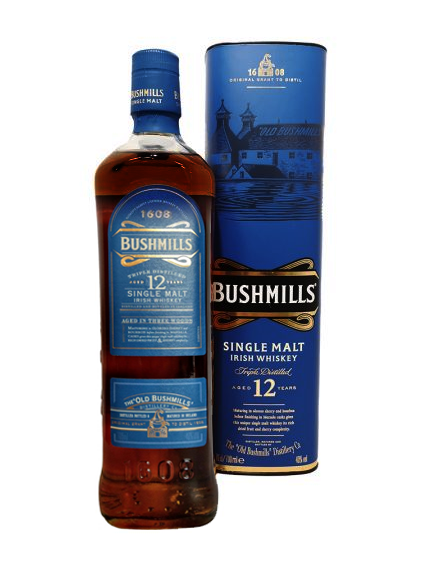 Bushmills 12-Year-Old Single Malt: Marsala Cask (Japanese Exclusive)