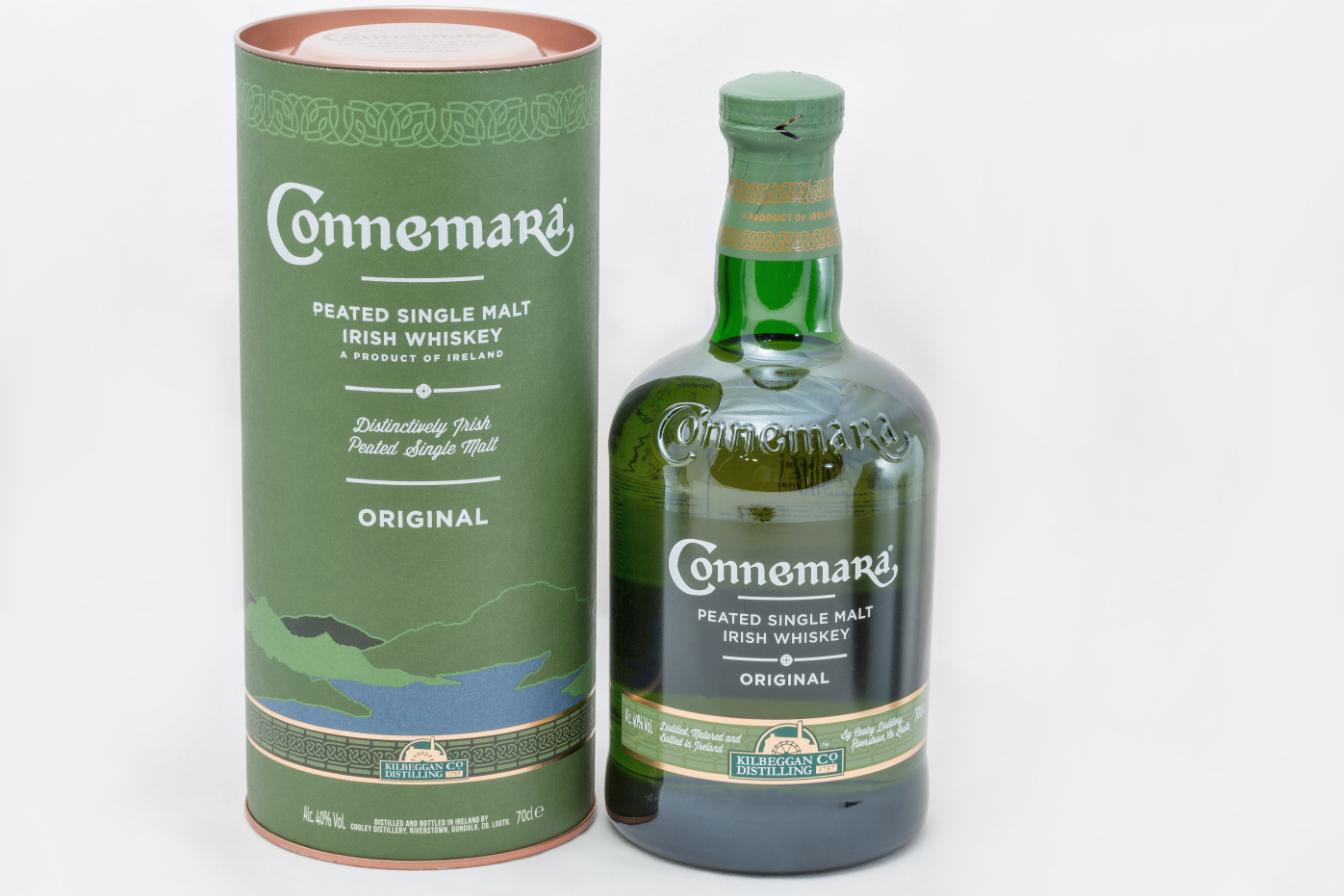 Irish Whiskey Bottle